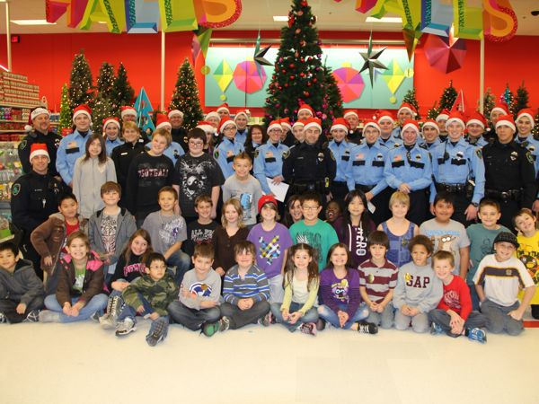 Shop With A Cop Event Provides Hundreds Of Children With