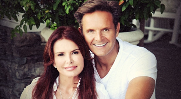 how did roma downey and mark burnett meet