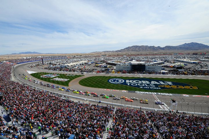 nascar news new safety features added to las vegas motor