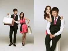 Rain and Taehee Kim