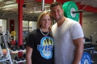 Haley Burke and Tim Tebow