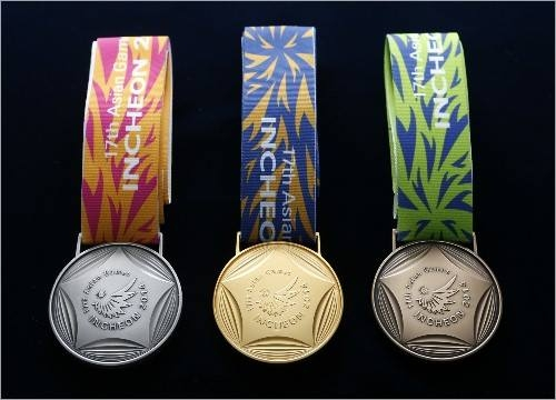 (Photo : FACEBOOK)Incheon Asiad Medals
