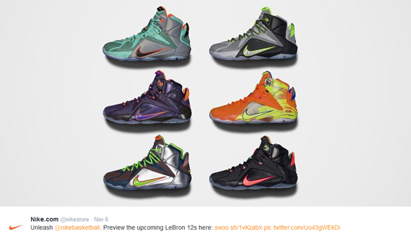 eb929f55026c Nike Release Dates 2014  LeBron 12  Dunk Force